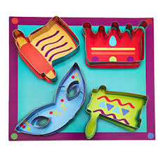 purim cookie cutters the kosher cook kcbw0154 purim cookie cutters 4 set