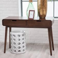 Walnut Sofa Table by Amazon Com Belham Living Carter Mid Century Modern Console Table