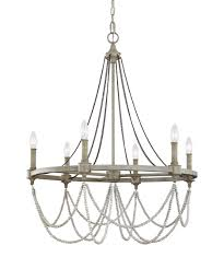 Chandeliers Under 50 by Murray Feiss F3132 6 Beverly 28 Inch Wide 6 Light Chandelier