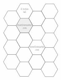 Quilting Hexagon Template hexagon templates for sewing a hexie quilt 2 inch 2 1 2 inch and