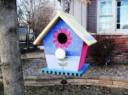 ideas for decorating wooden birdhouses cute bird houses handmade