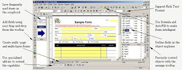 pdf forms designer formmax e forms software for business forms designing and