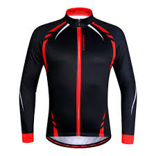 bike clothing wosawe men u0027s cycling jacket thermal fleece jerseys bike bicycle