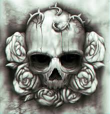 skulls graffiti n roses s pencil drawing skull roses and baroque