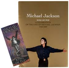 michael jackson funeral program michael jackson funeral ticket adish info