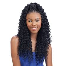 braids in front hair in back freetress synthetic braid aruba curl braid 20