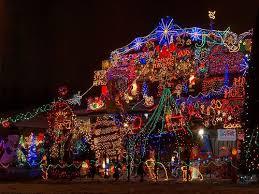 crazy christmas tree lights 30 crazy christmas houses the house shop blog