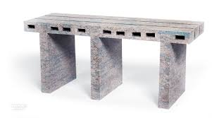 Sturdy Table Woojai Lee Makes Sturdy Furniture Out Of Recycled Newspaper