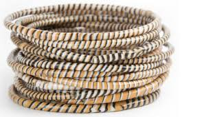 rubber bracelet made images Recycled rubber bracelets brown made with love project jpeg
