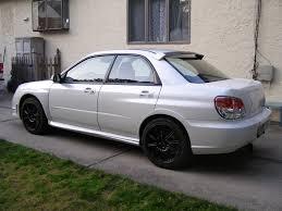 black subaru tires wheels powdercoated the rims matte black subaru impreza