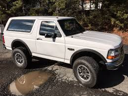 photo collection ford bronco raptor conversion
