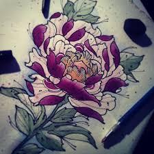 nice stencil of japanese flower tattoo golfian com