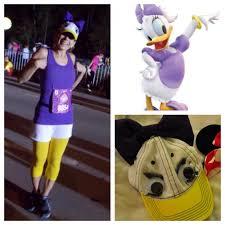 princess daisy halloween costume daisy duck running costume gabby rose runs disneyland half