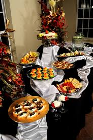 Buffet Set Up by Appetizer Buffet Line Set Up Wedding Catering Oklahoma
