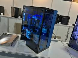 ces 2017 tour new lian li glass pc cases and a new standing desk