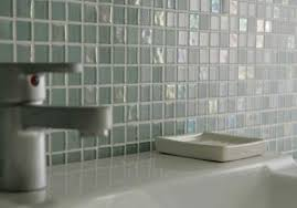 Glass Bathroom Tile Ideas Dewdrops Recycled Glass Tile Modern Bathroom Vancouver By