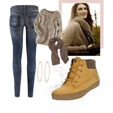 womens boots look timberland lounger boot look polyvore