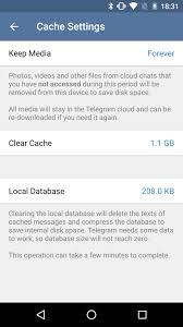 android cache clearing cache and reordering stickers