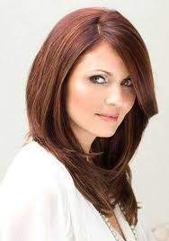 hairstyles for thick hair round face