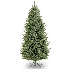100 slim flocked christmas tree canada shop artificial