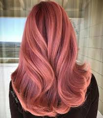 rose gold hair color peachy pink rose gold hair gold hair and hair coloring