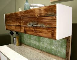 Barnwood Kitchen Cabinets Reclaimed Wood Tall Cabinet Modern Reclaimed Wood Furniture