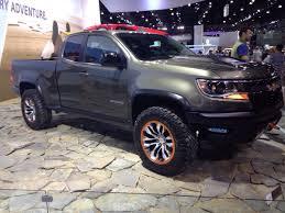 chevy concept truck chevrolet colorado zr2 concept la auto show trucks