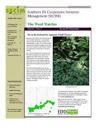 Edd Maps News U2014 Southern Indiana Cooperative Invasives Management