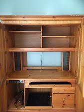 Oak Desk With Hutch Solid Oak Desk Ebay