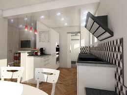 Cuisine Ouverte Salon Petit Espace by Cuisine Ouverte Sur Salon 30m2 Fabuleux Cuisine Ouverte Cuisine