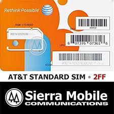 At T Universal Business Card Amazon Com At U0026t Wireless 3g 4g Lte Sim Card Postpaid Go