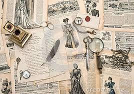 bureau de style mode accessoires antiques de bureau écrivant des outils magaz de mode
