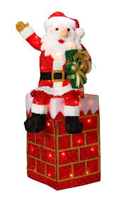 Lighted Santa And Reindeer Outdoor by 149 Best Outdoor Christmas Decorations Images On Pinterest