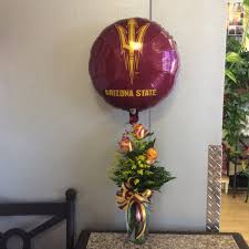 bae flowers and balloon at asu roses balloon in tempe az delights delivered
