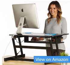 best height adjustable desk 2017 best desk risers and stands for laptops and monitors 2018 reviews