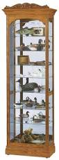 curio cabinet gray curio cabinet howard miller silver finish