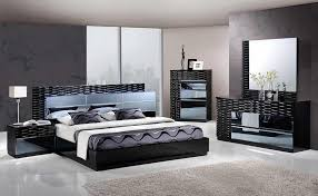 Solid Wood Contemporary Bedroom Furniture - black modern bedroom furniture video and photos madlonsbigbear com