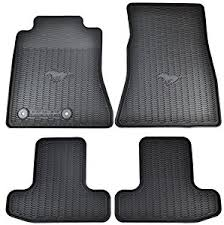 mustang mats amazon com oem factory stock 2015 2016 black ford mustang pony