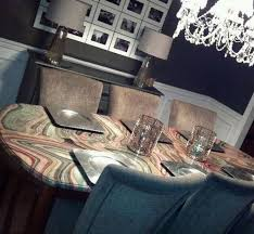 attractive decoupage dining room table part 14 round dining