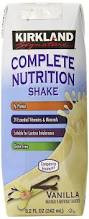 amazon com kirkland signature complete nutritional shake