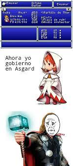 Final Fantasy Memes - bruja blanca del final fantasy meme by fulano de tal