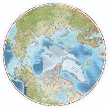 Giant Map Arctic Alive Canada Uk Foundation
