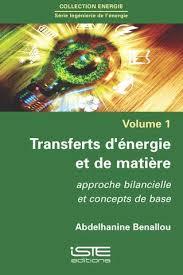 transfert de si e transferts d énergie et de matière iste editions