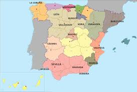 Valladolid Spain Map by