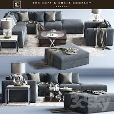 Sofa And Chair Company by 3d Models Sofa Braque Large Sofa Concave Brass Horizon