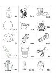 english worksheets hard c soft c picture and word sort