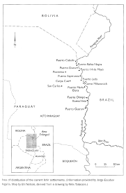 Asuncion Paraguay Map About The Chamacoco Dictionary