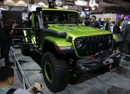 modified jeep 2017 mopar modified 2018 jeep wranglers debut in la jk forum