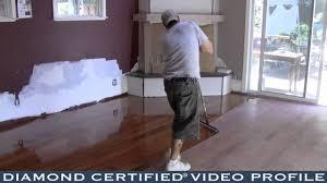 Diamond Laminate Flooring Roy U0027s Woodcraft Flooring Diamond Certified Video Profile Youtube