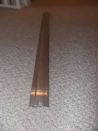 Laminate Floor Door Strip Aluminium Metal Door Trim For Carpet Laminate Vinyl Flooring